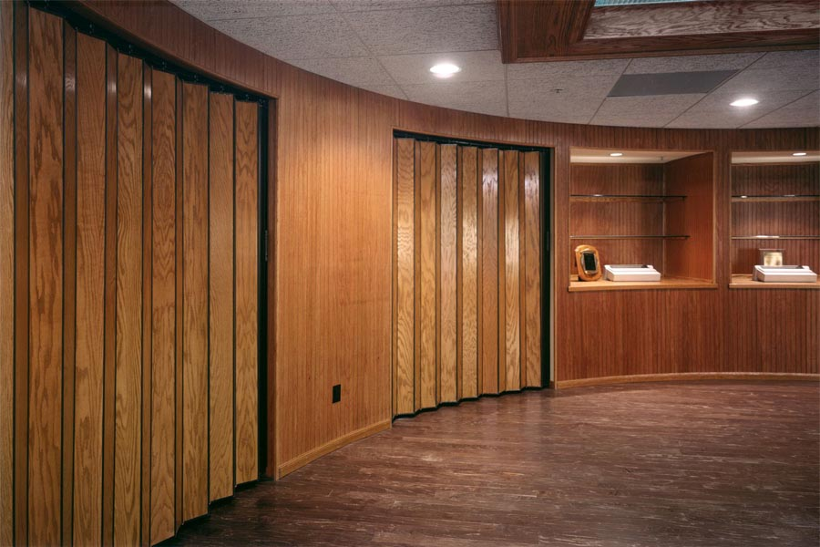 Wood Accordion Doors