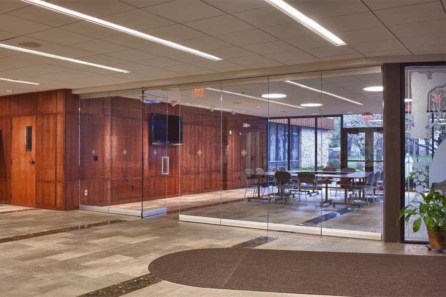 Moveable Glass Walls